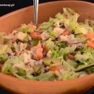 Sałatka z grillowanym kurczakiem / Salad with grilled chicken