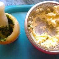 Masło ziołowe ( koperek , pietruszka , szczypiorek )