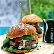 Bułki do hamburgerów albo hot-dogów