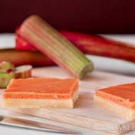 Ciasto kruche z kremem rabarbarowym (rabarbarowym curdem)