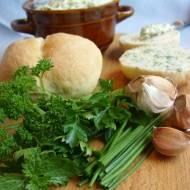 Masło ziołowe - czosnkowe