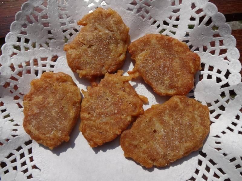 Gryczane placki drożdżowe z jabłkami (bez glutenu, jajek i mleka)