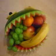 COŚ Z NICZEGO - Arbuzowy potwór na owoce