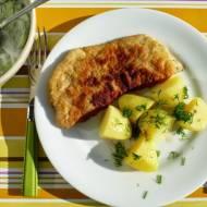 Klasyczny obiadek: Kotlet z ziemniakami i mizerią