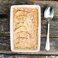 Pieczona owsianka z jabłkiem. / Baked porridge with apple.