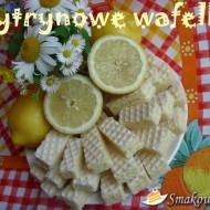 Wafelki cytrynowe