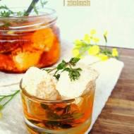 Wiejski twaróg w oleju rzepakowym i ziołach