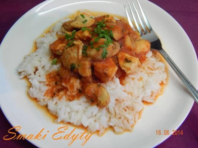 Dietetyczny kurczak curry