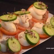 Jajko z tuńczykiem - szybka przekąska / Egg and tuna - fast snack