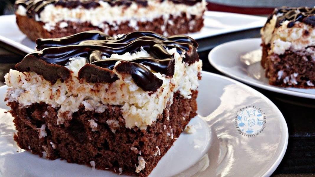 Ciasto czekoladowo - kokosowe