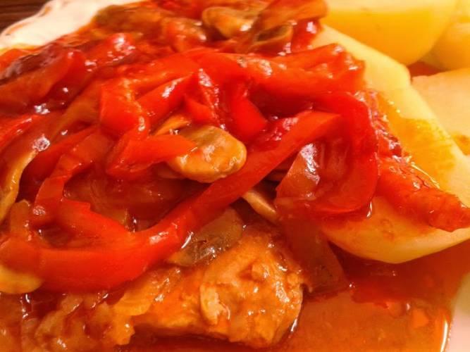 PRZEPIS - Pieczona karkówka z warzywami