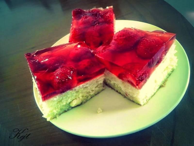 Ciasto z białek