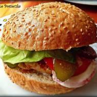 Chicken-Burger! :)