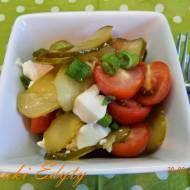 Sałatka z mozzarelli