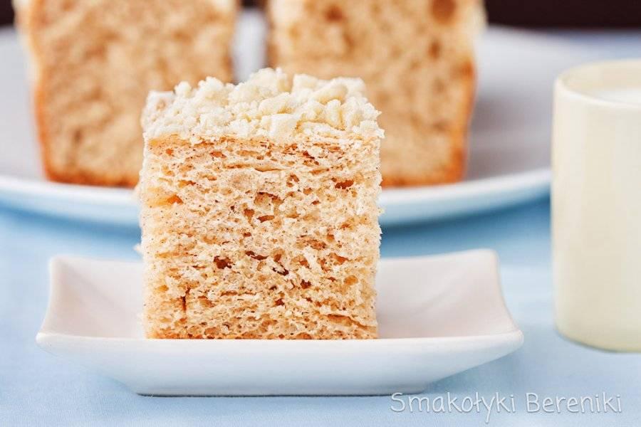 Ciasto drożdżowe z cynamonem