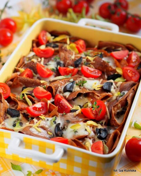 Przepis Na Grzyby Nalesniki Obiad Z Piekarnika Pomidorowe