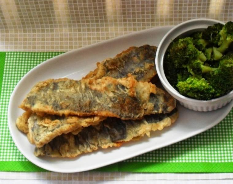 Ryba pieczona z włoską oliwą