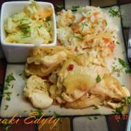 Kurczak w sosie śliwkowym