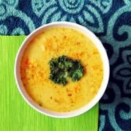 Zupa z soczewicy z mlekiem kokosowym