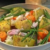 Warzywa gotowane na parze jako danie główne