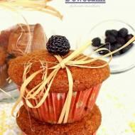 Muffiny jaglane z owocami