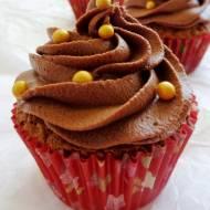 Babeczki czekoladowe z ganache