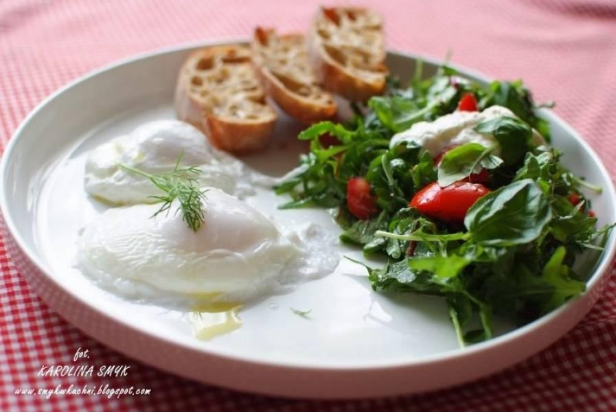 ŚNIADANIE FIT! Jajko poszetowe (