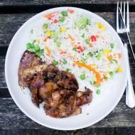 Kurczak w azjatyckiej  marynacie. / Asian marinade chicken.