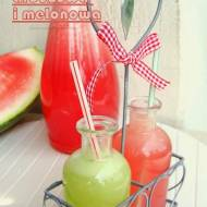 Lemoniada arbuzowa i melonowa