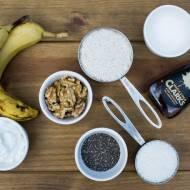 Bananowy chlebek  bez jajek, cukru i tłuszczu. / Eggless, sugar free and fatless banana bread.