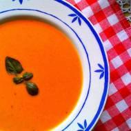 Smaki Grecji: zupa pomidorowa z jogurtem