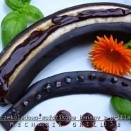 Czekoladowo-goździkowe banany z grilla