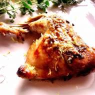 Smaki Grecji: pieczony kurczak z cytryną