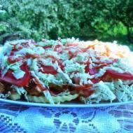 Kebab na frytkach