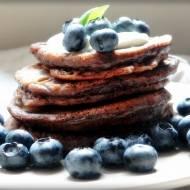 Amerykańskie pancakes w wersji kakaowej