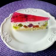 Tort kryształki