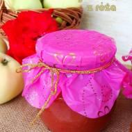 Marmolada jabłkowa z różą