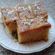 Ciasto ze śliwkami.