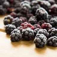 Jak zamrozić jeżyny ? / How to freeze blackberries ?