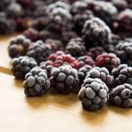 Jak zamrozić jeżyny ? / How to freeze blackberries ?