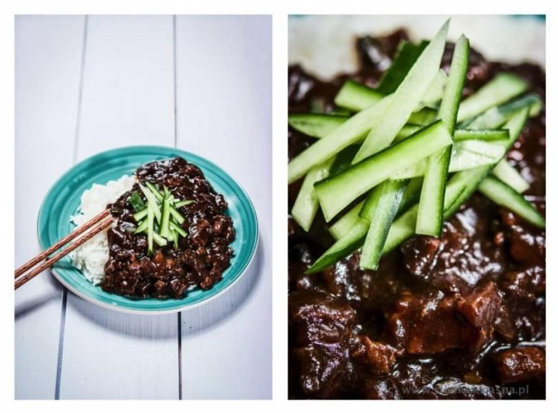 Czarna fasola i ryż