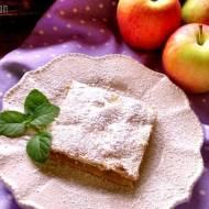 Jabłkowe ciasto z miętą i tymiankiem