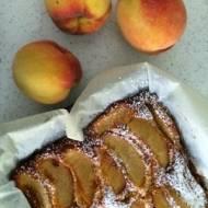 Szybkie ciasto z brzoskiwiniami