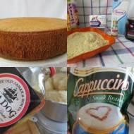 Tort maślano migdałowy