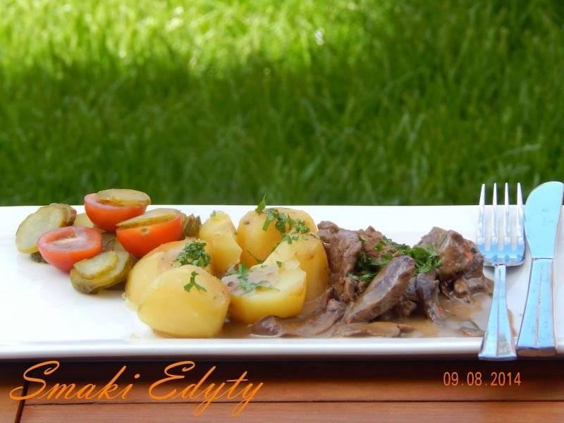 Wołowina z porcini- czyli z borowikami