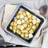 Pieczone ziemnianki z rozmarynem. / Rosemary roasted potatoes.