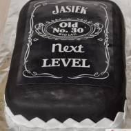 Tort a la Jack Daniel's