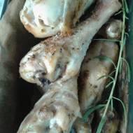 Kurczę pieczone w ziołach
