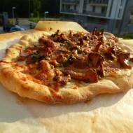 Pizza party ze szpinakiem lub kurkami
