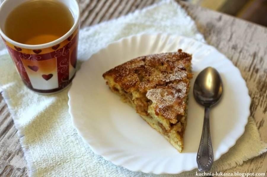 Szybkie ciasto z jabłkami.